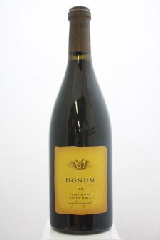 Donum Pinot Noir West Slope Single Vineyard 2013