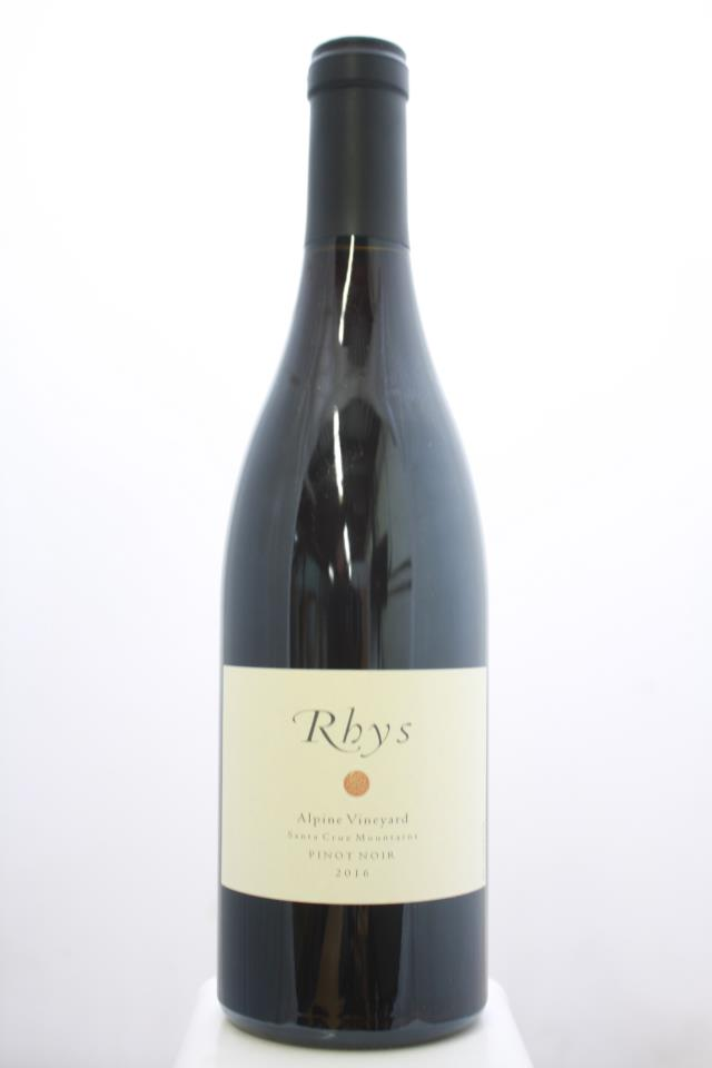 Rhys Vineyards Pinot Noir Alpine Vineyard 2016
