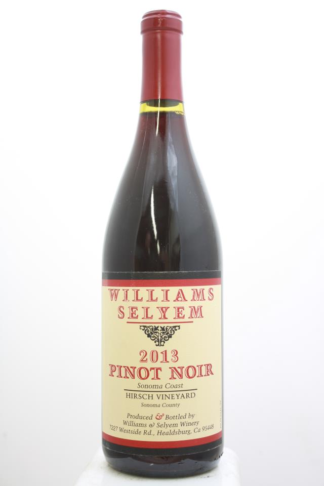 Williams Selyem Pinot Noir Hirsch Vineyard 2013