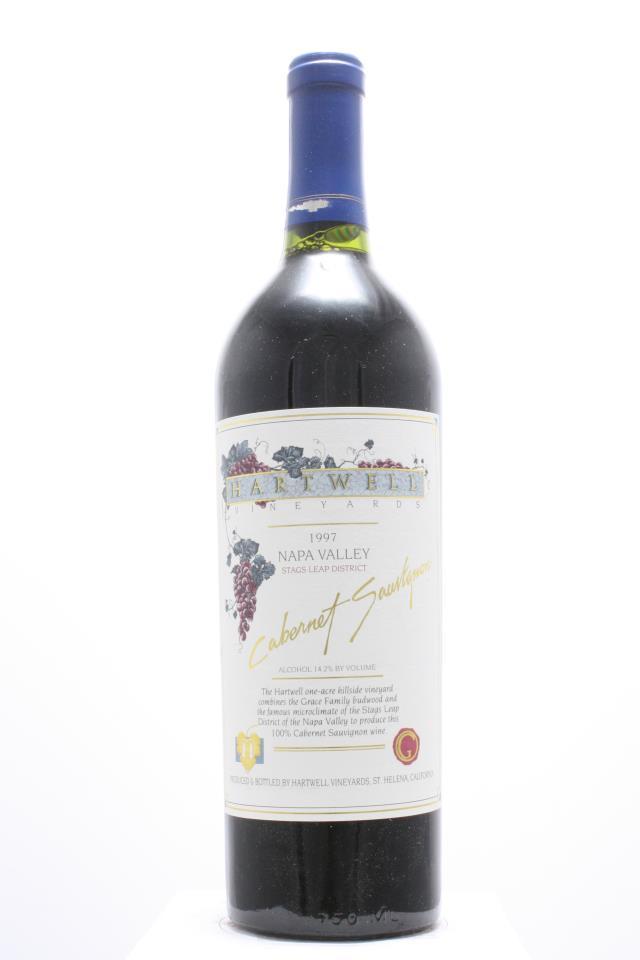 Hartwell Vineyards Cabernet Sauvignon Estate 1997