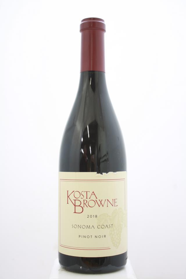 Kosta Browne Pinot Noir Sonoma Coast 2018