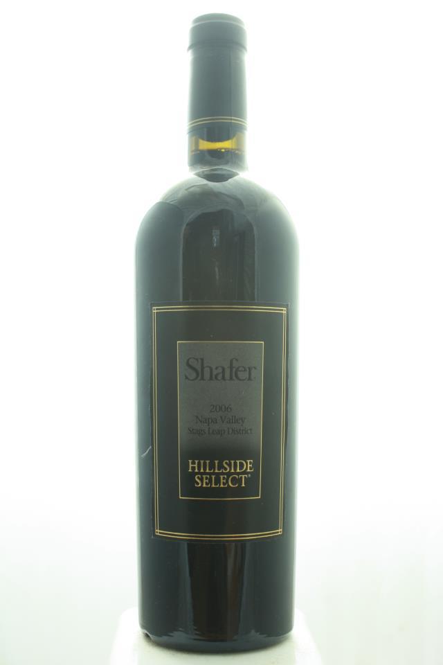 Shafer Cabernet Sauvignon Hillside Select 2006