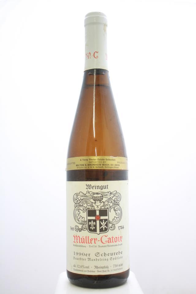 Müller-Catoir Haardter Mandelring Scheurebe Spätlese #20 1990