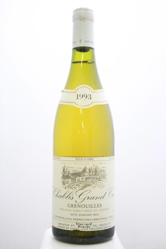 Louis Michel Chablis Les Grenouilles 1993