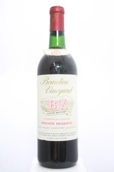 BV Cabernet Sauvignon Georges de Latour Private Reserve 1973