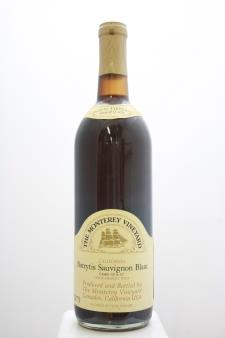 Monterey Peninsula Winery Sauvignon Blanc Botrytis 1975