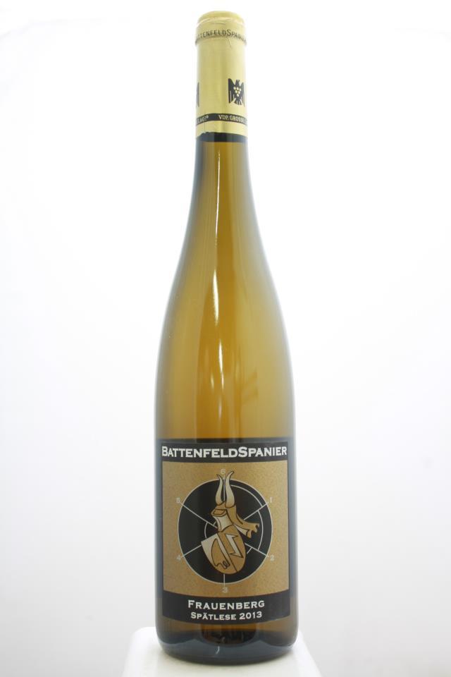 Battenfeld-Spanier Nieder-Flörsheim Frauenberg Riesling Spätlese #28 2013