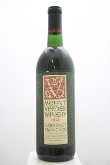 Mount Veeder Cabernet Sauvignon Napa Valley 1974