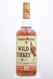 Austin Nichols Wild Turkey Kentucky Straight Bourbon Whiskey Old #8 Brand NV
