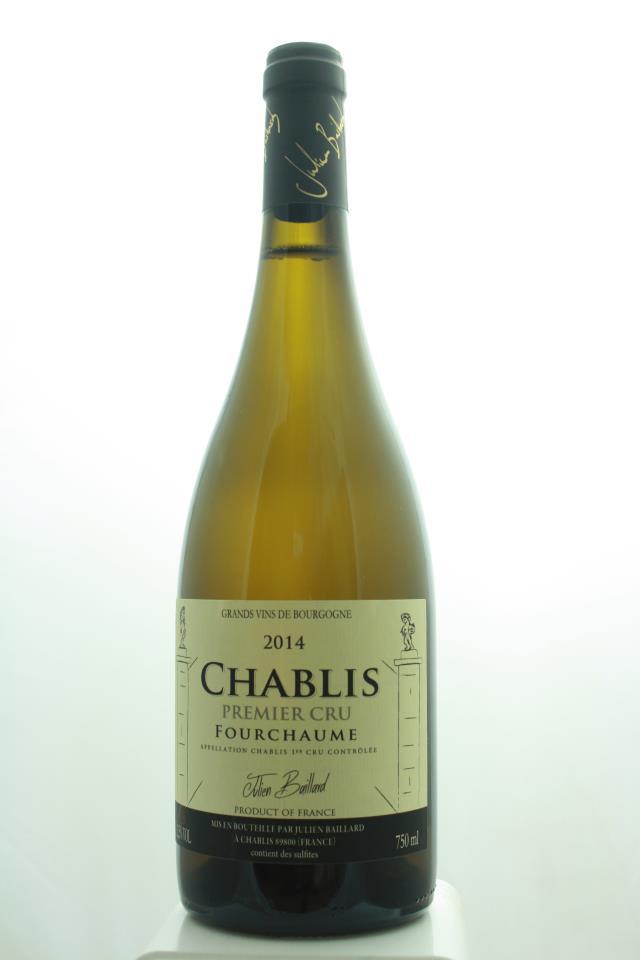 Julien Baillard Chablis Fourchaume 2014