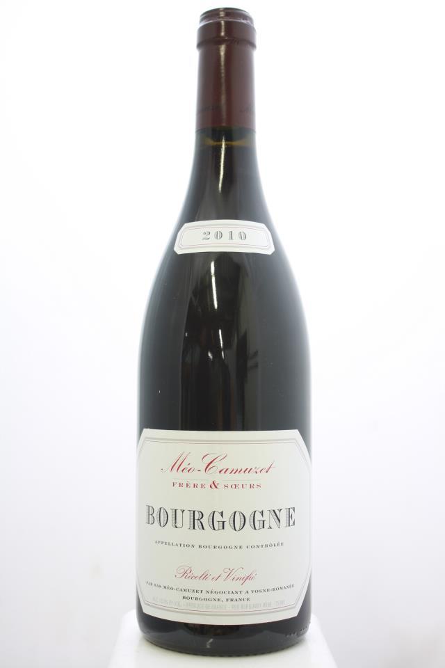 Méo-Camuzet Frère & Sœurs Bourgogne Rouge 2010