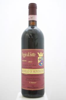 Poggio di Sotto Brunello di Montalcino 2000