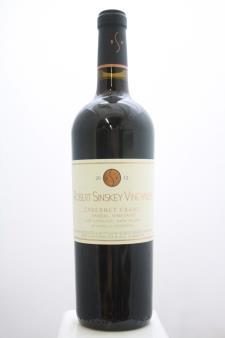Robert Sinskey Vineyards Cabernet Franc Vandal Vineyard 2012