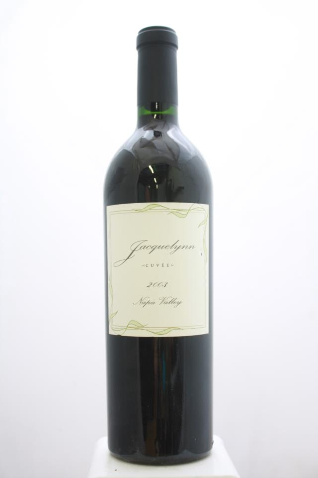 Chateau Boswell Proprietary Red Cuvèe Jacquelynn 2003