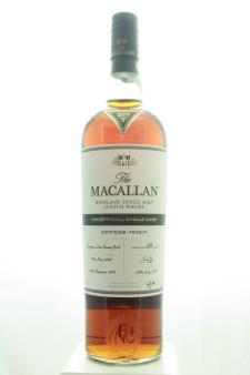 The Macallan Highland Single Malt Scotch Whisky Exceptional Single Cask 2017/ESB-7802/11 2017 Release 2017