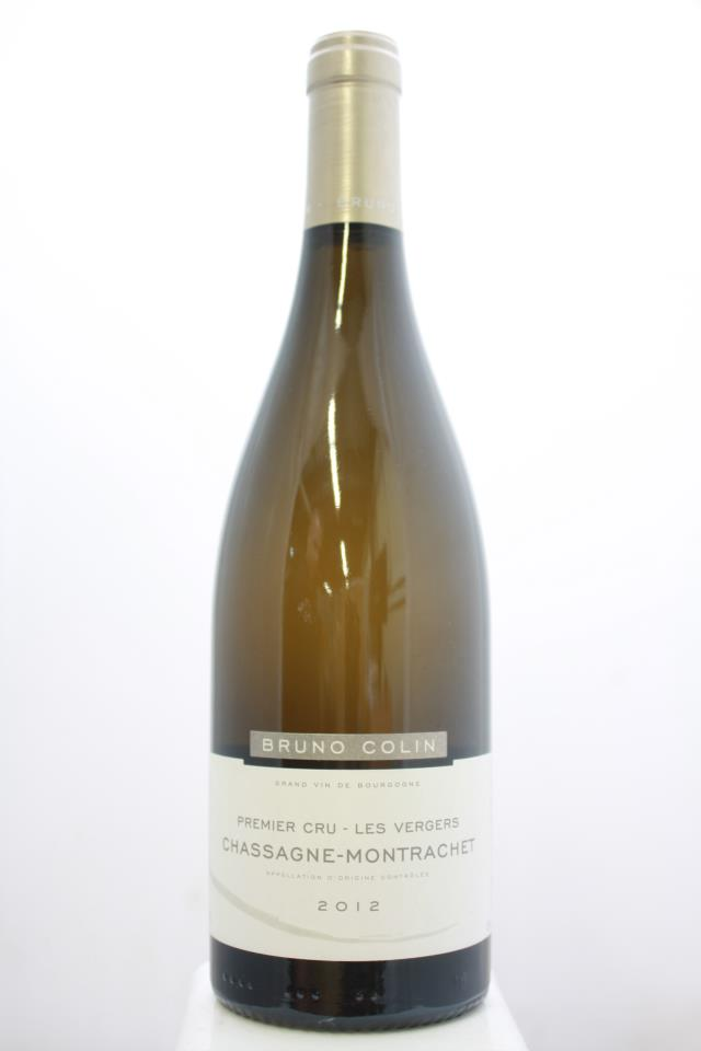 Bruno Colin Chassage-Montrachet Les Vergers 2012