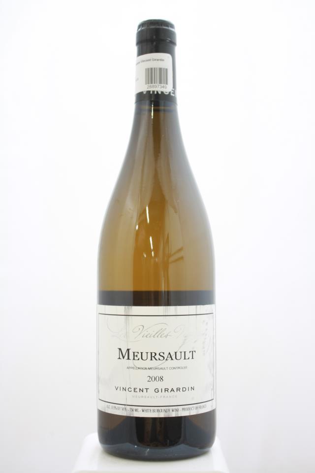 Vincent Girardin Meursault Les Vieilles Vignes 2008