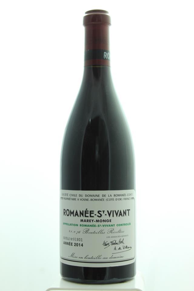 Domaine de la Romanée-Conti Romanée-Saint-Vivant Marey-Monge 2014