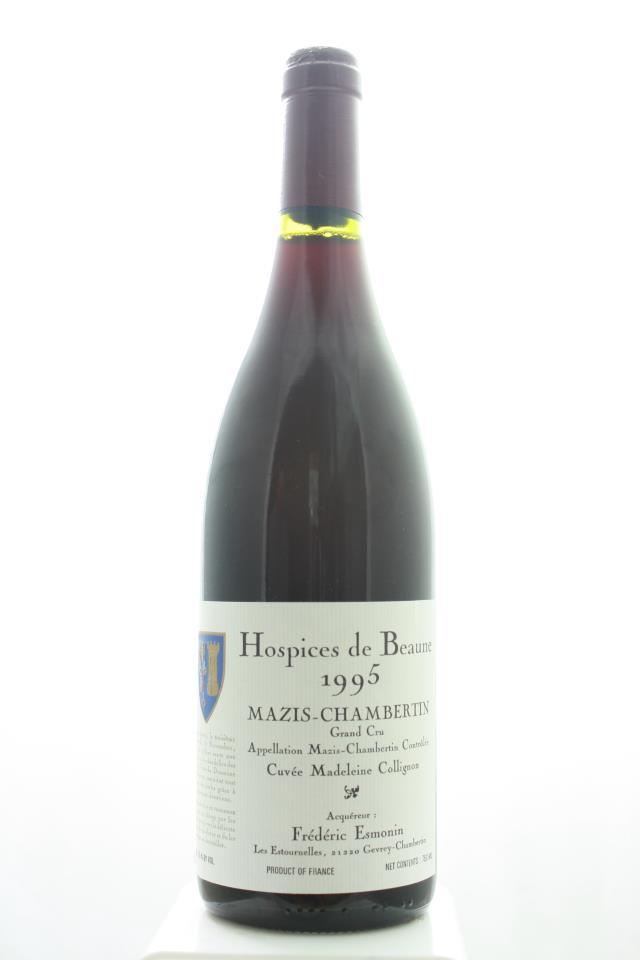 Frédéric Esmonin Mazis-Chambertin Hospices de Beaune Cuvée Madeleine Collignon 1995