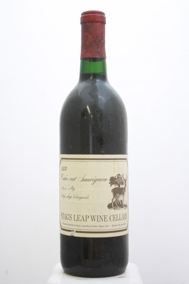 Stag's Leap Wine Cellars Cabernet Sauvignon Stag's Leap Vineyards 1974