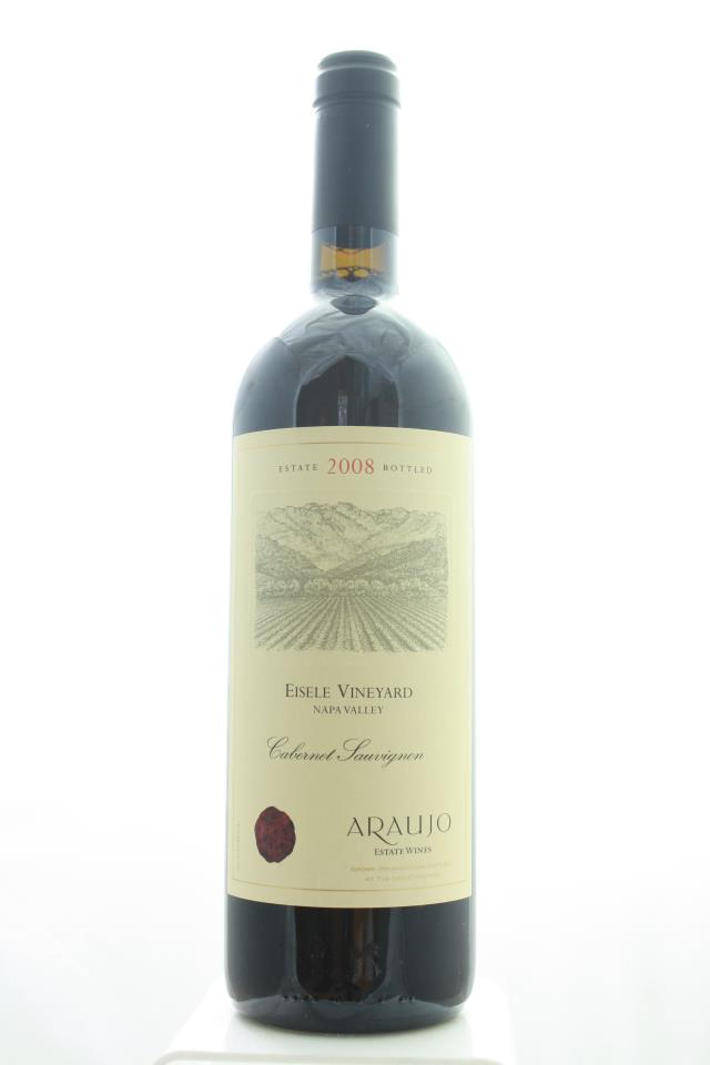 Araujo Estate Cabernet Sauvignon Eisele Vineyard 2008