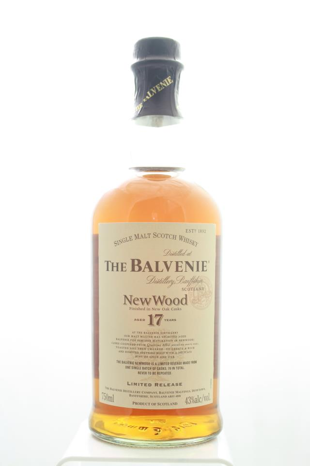 The Balvenie Single Malt Scotch Whisky New Wood Limited Release 17-Years-Old NV