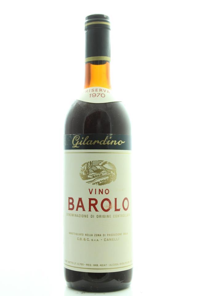 Gilardino Barolo Riserva 1970
