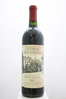 Chateau Montelena Cabernet Sauvignon The Montelena Estate 1990