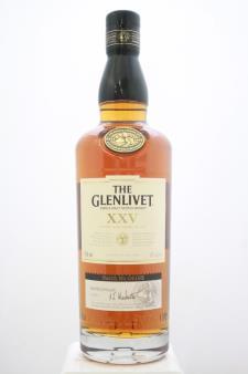 Glenlivet Single Malt Scotch Whisky XXV 25-Years-Old NV