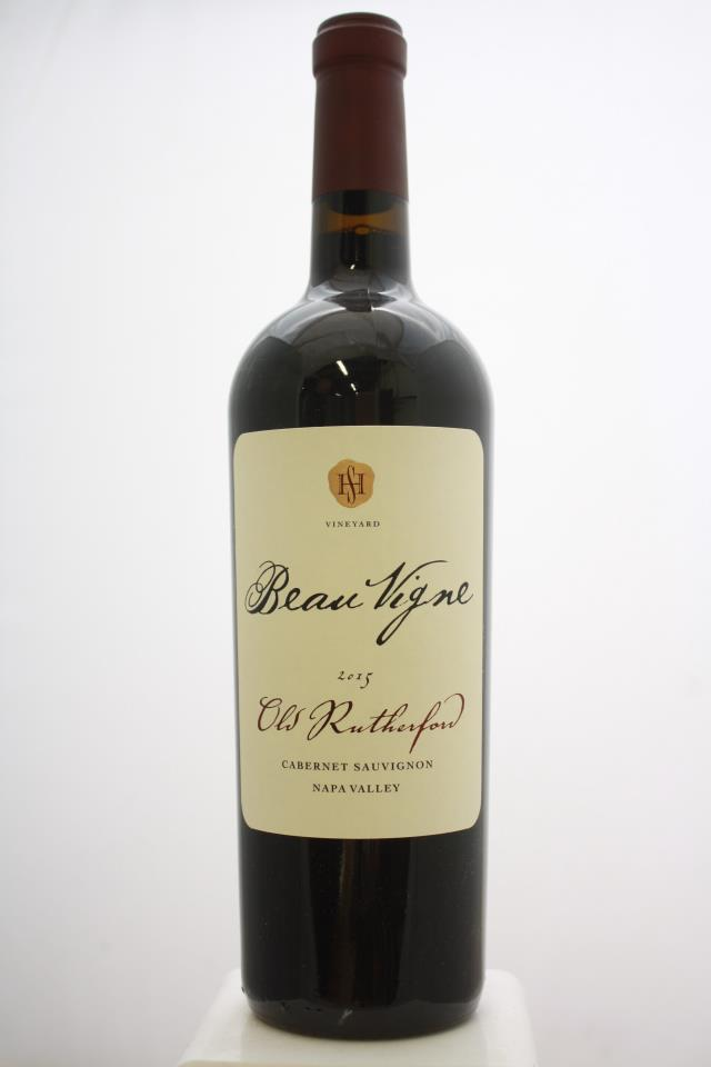 Beau Vigne Cabernet Sauvignon Old Rutherford 2015