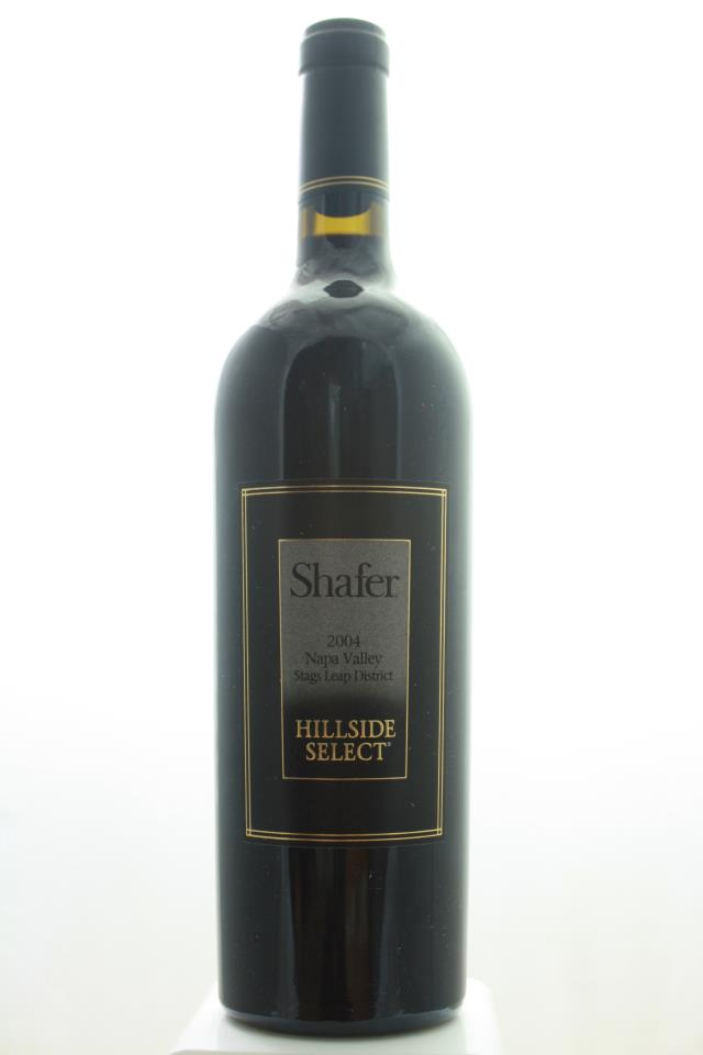 Shafer Cabernet Sauvignon Hillside Select 2004