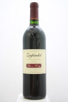 Scherrer Zinfandel Scherrer Old & Mature Vines 1999