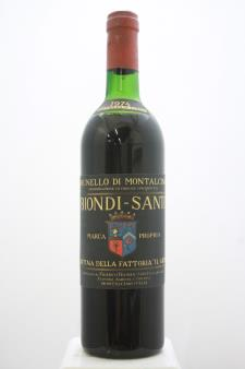 Biondi Santi Brunello di Montalcino Il Greppo 1974
