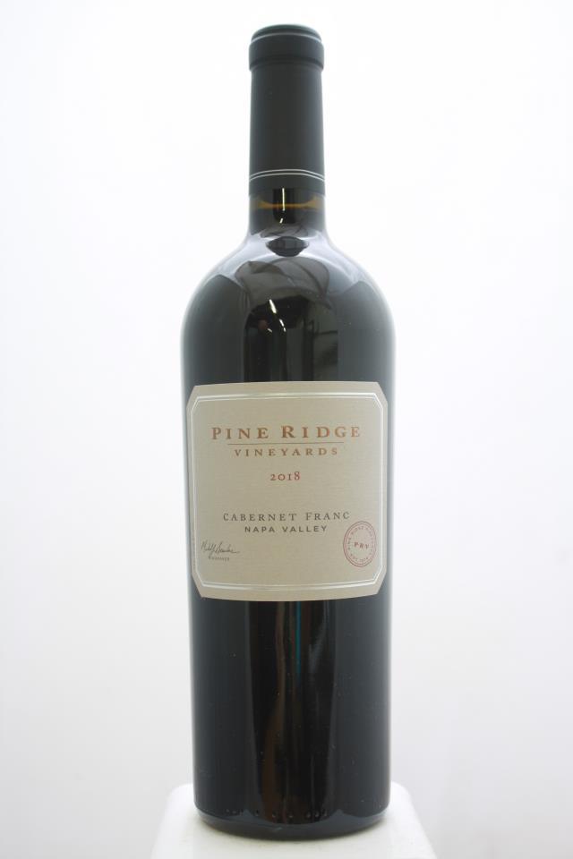 Pine Ridge Cabernet Franc 2018
