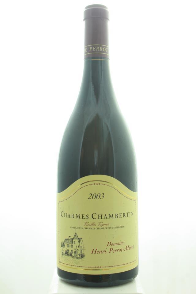 Henri Perrot-Minot Charmes Chambertin Vieilles Vignes 2003