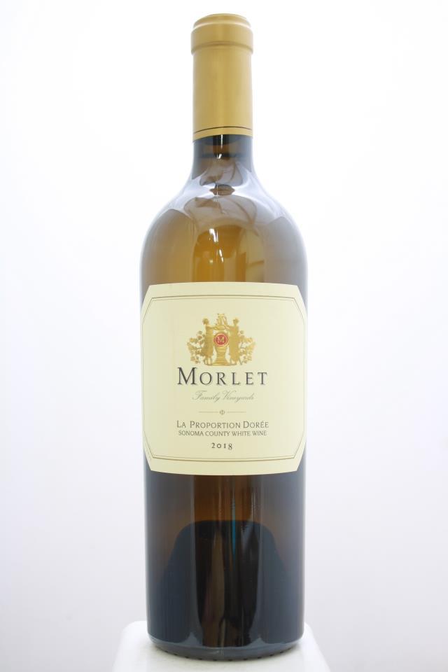 Morlet Family Vineyards Proprietary White La Proportion Dorée 2018