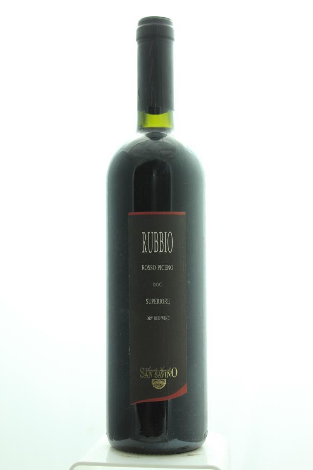 San Savino Rosso Piceno Rubbio 1998