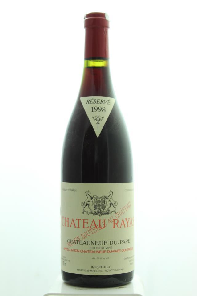 Château Rayas Châteauneuf-du-Pape Réservé 1998
