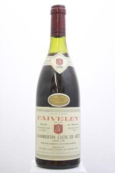 Faiveley (Maison) Chambertin Clos-de-Bèze 1988