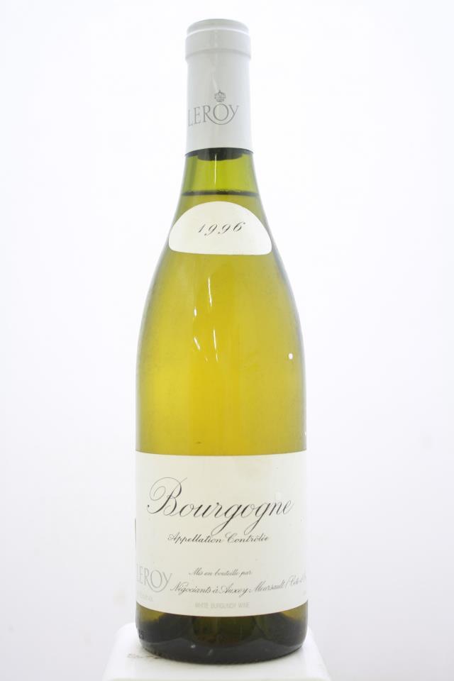 Maison Leroy Bourgogne Blanc 1996