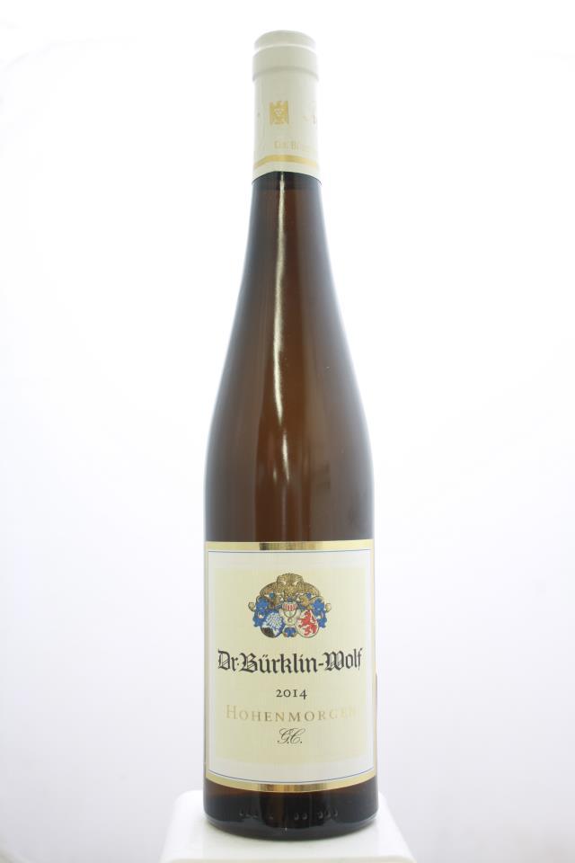 Dr. Bürklin Wolf Deidesheimer Hohenmorgen Dry Riesling Großes Gewächs #38 2014