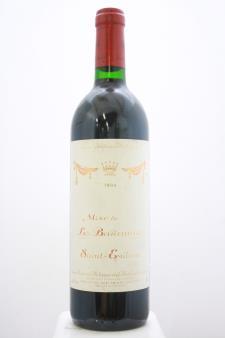 Baron Philippe de Rothschild Mise de La Baronnie Saint-Emilion 1990