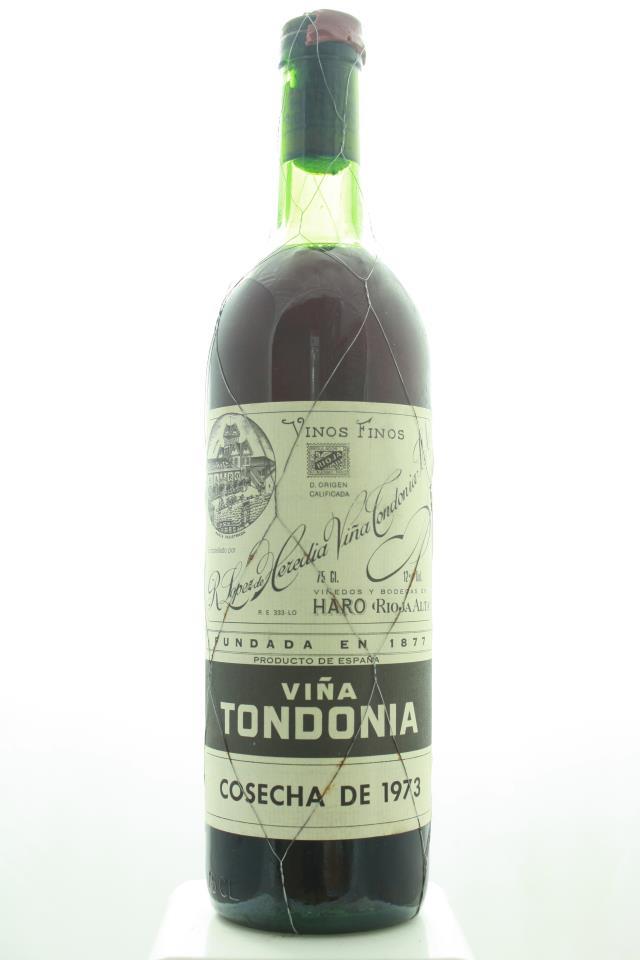 R. López de Heredia Rioja Gran Reserva Viña Tondonia Tinto 1973