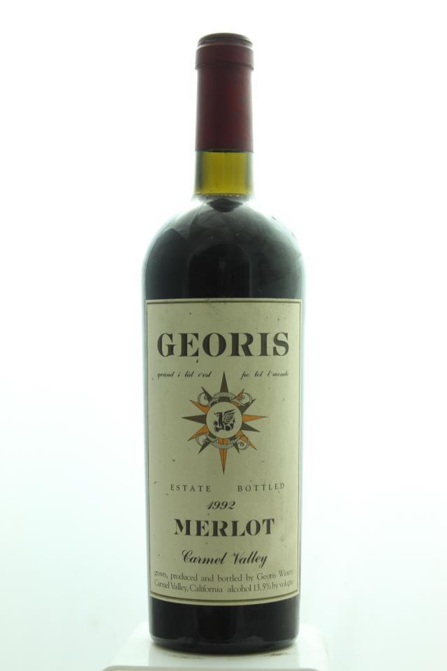 Georis Merlot Estate 1992
