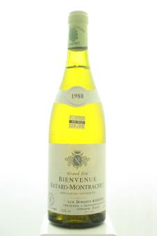 Domaine Ramonet Bienvenues-Bâtard-Montrachet 1988