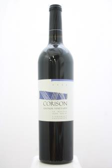 Corison Cabernet Sauvignon Kronos Vineyard 2016