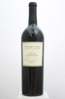Sterling Vineyards Merlot Diamond Mountain Ranch 1997