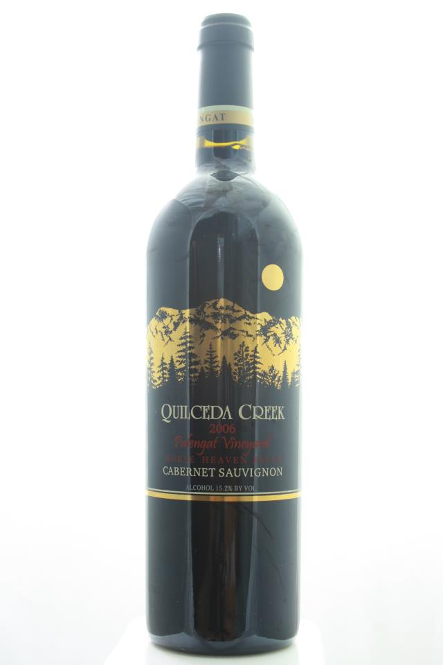 Quilceda Creek Cabernet Sauvignon Palengat Vineyard 2006