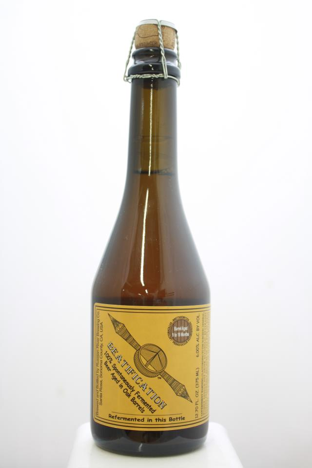 Russian River Brewing Co. Fermented Beer Aged in Oak Barrels Beatification 9-19 Months Aged NV