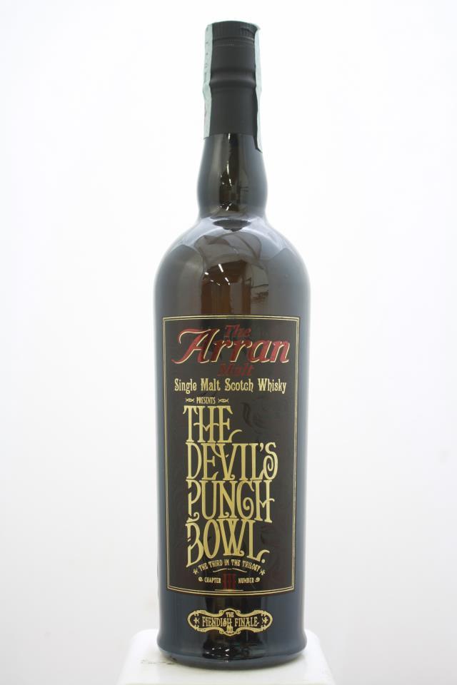 Arran Single Malt Scotch Whisky The Devil's Punch Bowl Chapter III Number NV